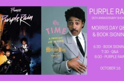 Morris Day Book Signing / 35th Anniversary Purple Rain Screening