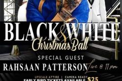 Black And White Christmas Ball with Rahsaan Patterson Live