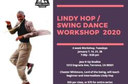 LINDY HOP / SWING DANCE WORKSHOP 2020