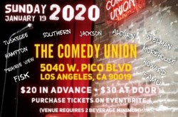 Grambling Alumni SoCal Chapter 3rd Annual HBCU Comedy Show