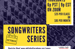 White Hall Arts Academy Songwriters Series