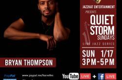 Quiet Storm Sundays Live Jazz Concert Series