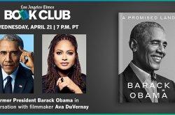 Former President Barack Obama & Ava Duvernay