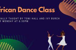 African Dance Class (virtual)