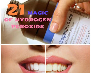 21 AMAZING USES OF HYDROGEN PEROXIDE FOR EVERYONE