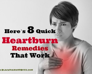 Here's 8 Quick Heartburn Remedies That Work