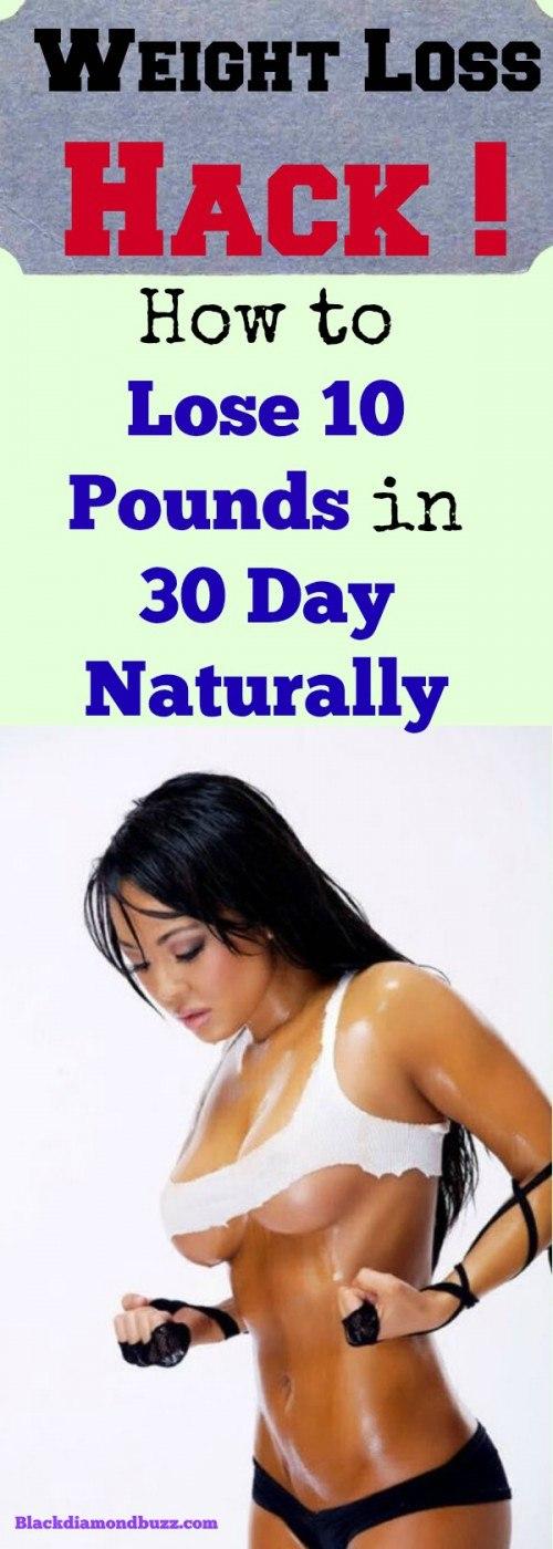 Comment perdre 10 kilos en 30 jours naturellement -