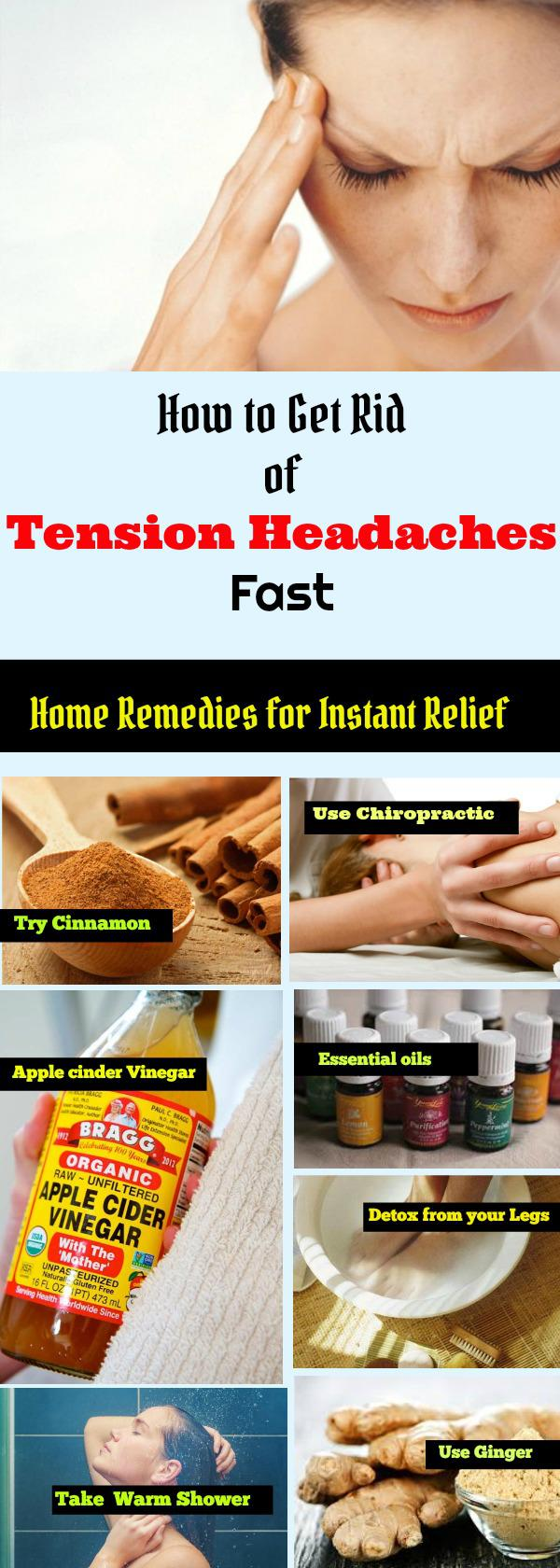 7 Best Tension Headache Remedies for Fast Relief