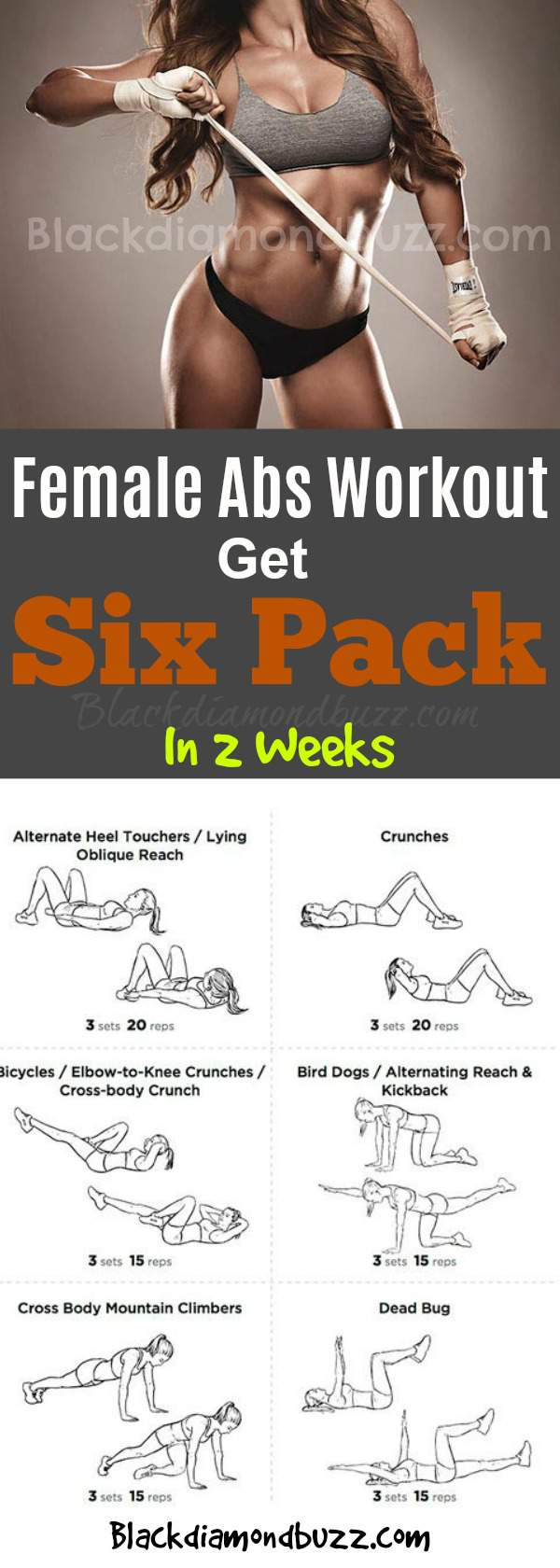 How to get six pack in 1 week