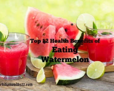 Top 12 Health Benefits of Eating Watermelon