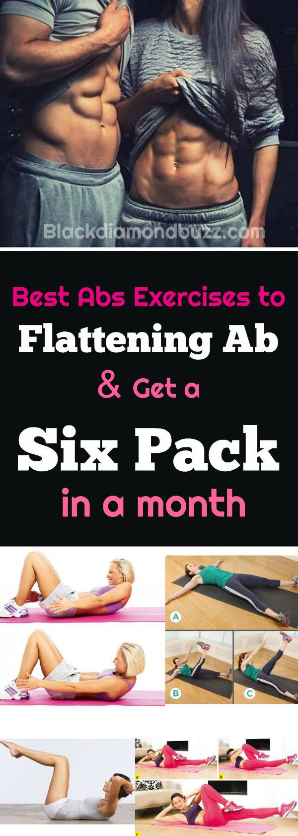 7 Best Abs Exercises to Get a Six Pack Ab in a Month