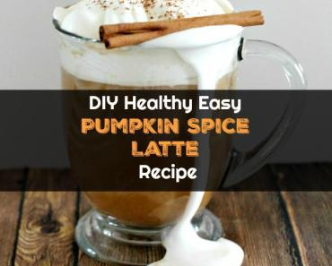 DIY Healthy Easy Pumpkin Spice Latte Recipe (Make It Better Than Starbucks) - Best Fall Drink Ever!