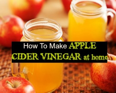 How to Make Apple Cider Vinegar at Home for Weight Loss