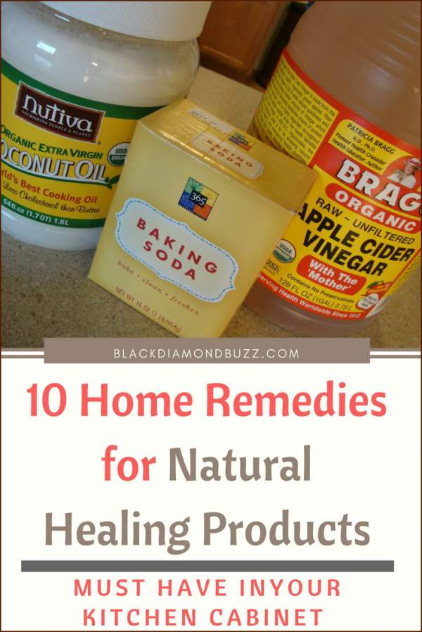 10 Home Remedies for Natural Healing Products |Must Have in Kitchen Cabinet