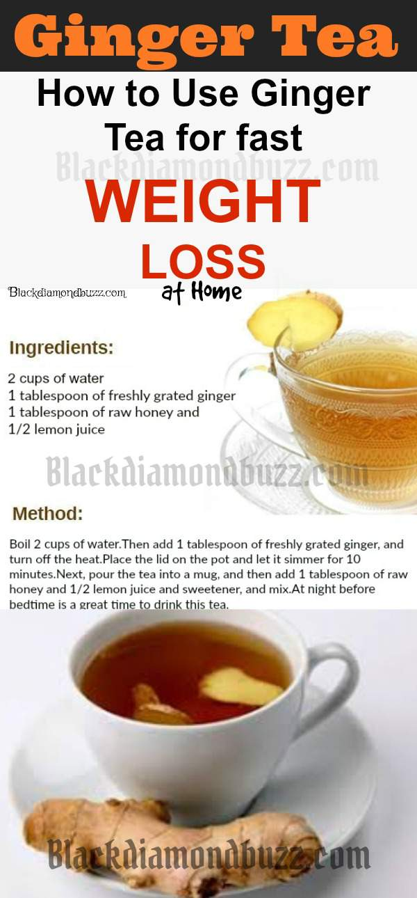Ginger tea for weight loss- best home remedies for weight loss and belly fat. Loss body fat in 2 weeks and detox your body