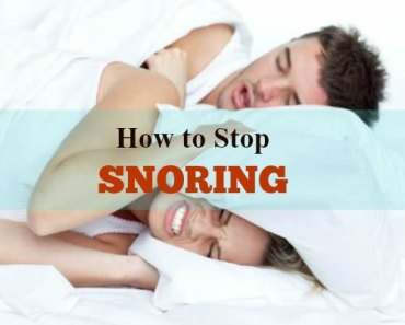How to Stop Snoring Naturally and Permanently