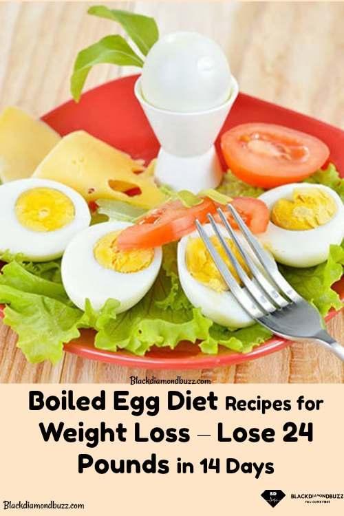 boil egg diet 14 days