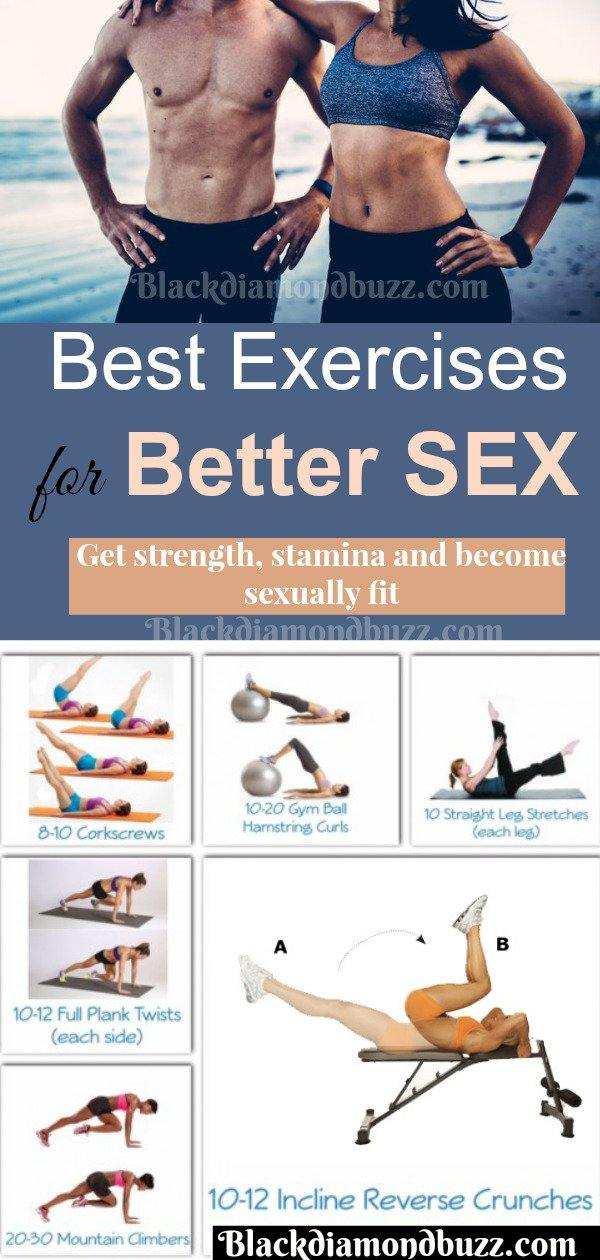 exercises to make you better in bed