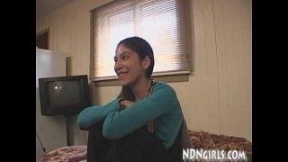 NDNgirls.com 19yo native american teen swallows cum in mouth