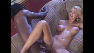 Hot Babe rides an very huge black cock very deep blowjob