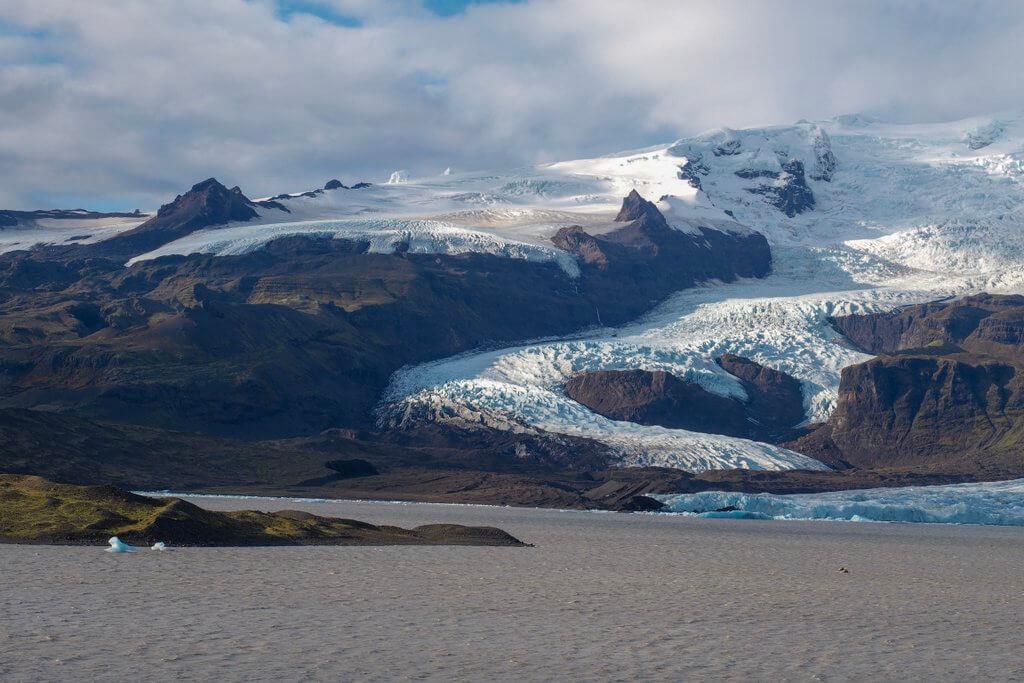 Fjallsarlon IJsland Ringstrasse South