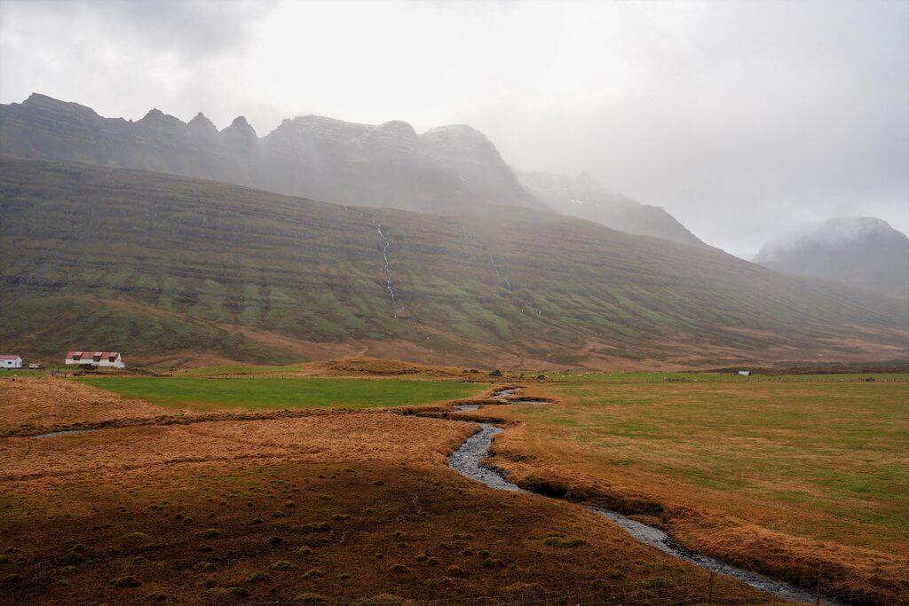 Oost-fjorden IJsland