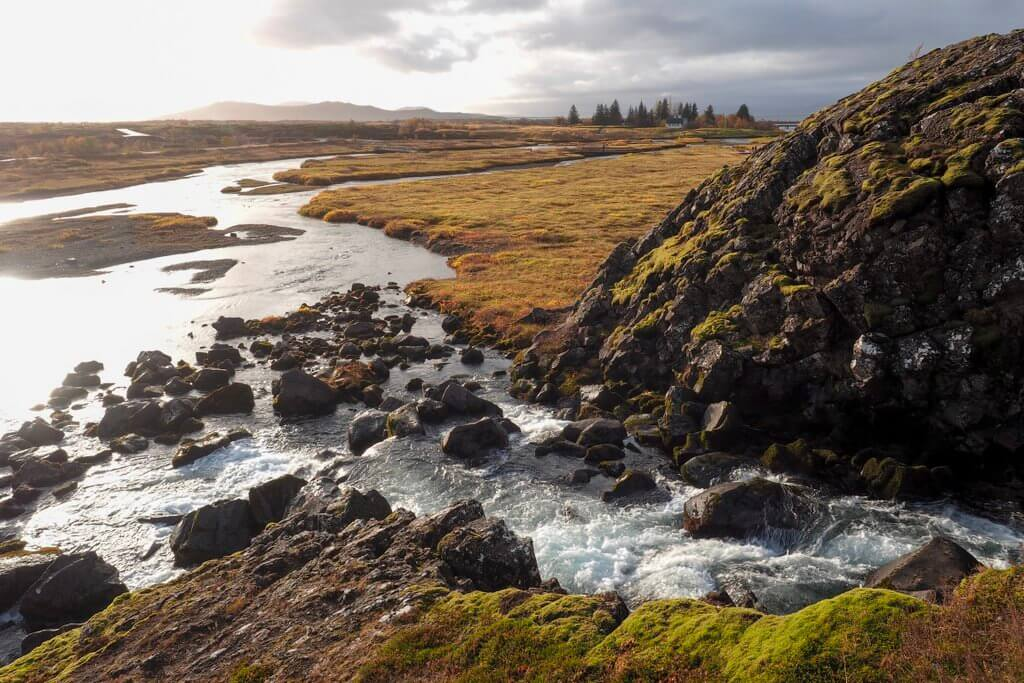 Thingvellir Nationaal Park IJsland