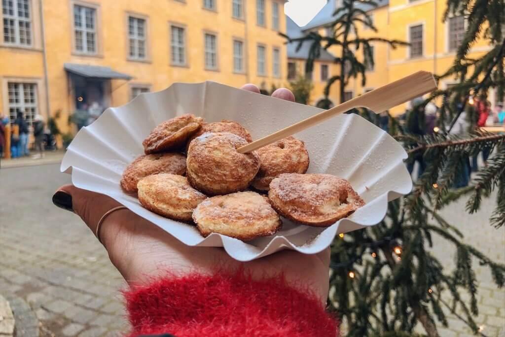 Kerstmarkt Kasteel Blankenburg Poffertjes