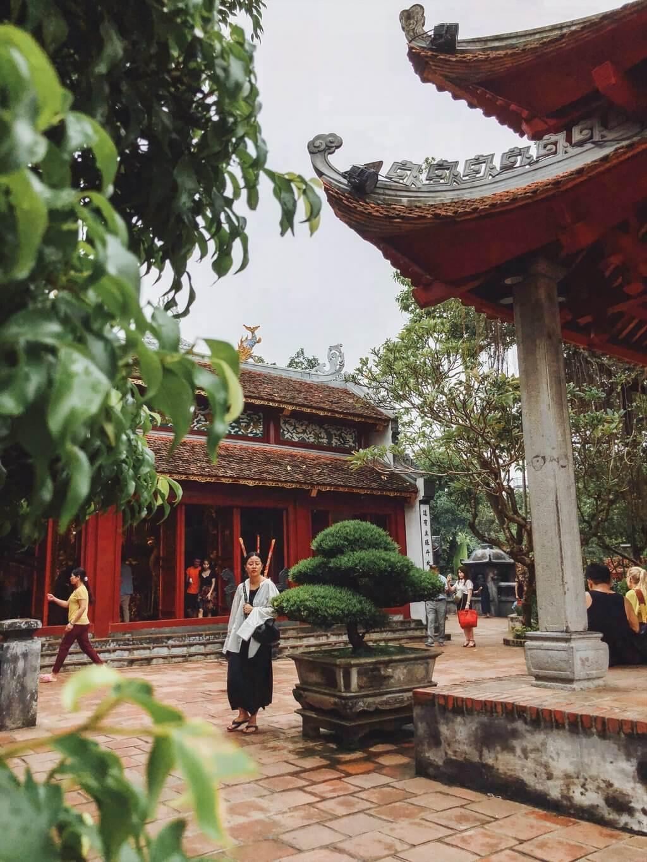 Hanoi bezienswaardigheden Jadeberg tempel