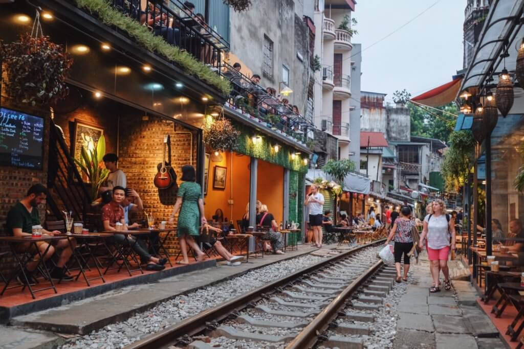 Hanoi Train Street gesloten