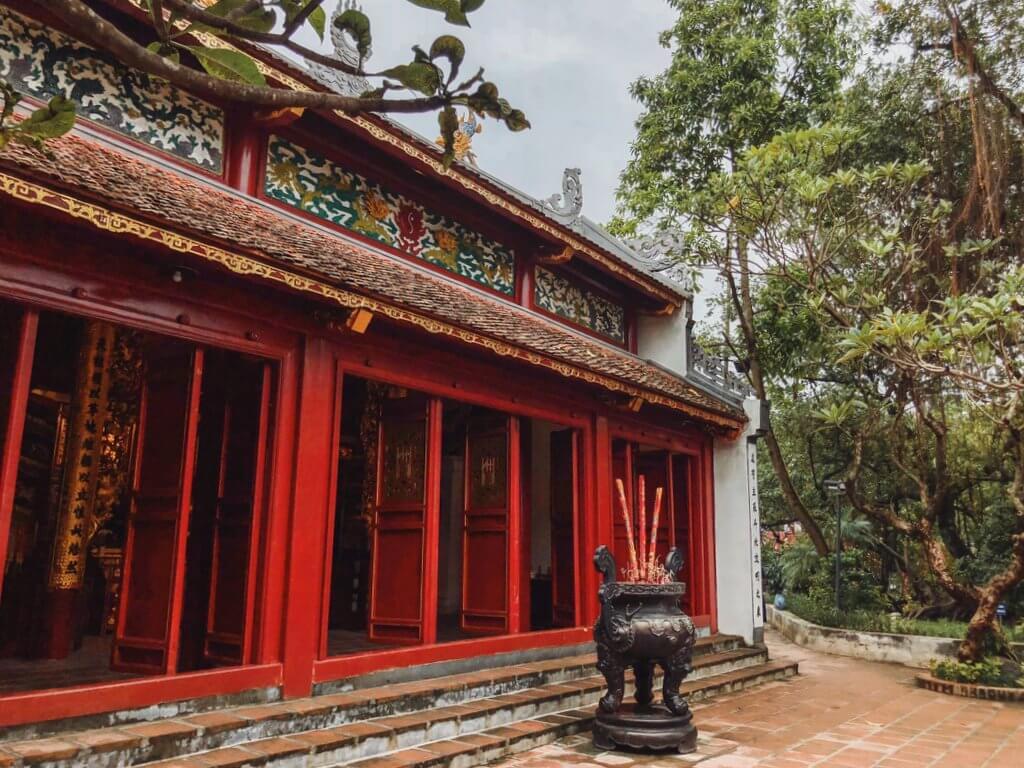 Jadeberg tempel Hanoi