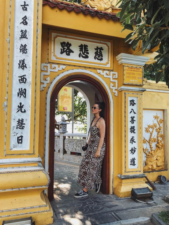 Tran quoc pagode Hanoi Vietnam