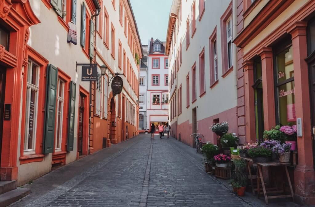 Tips voor oude binnenstad van Heidelberg