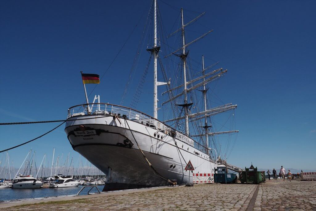 Gorch Fock I Stralsund-haven
