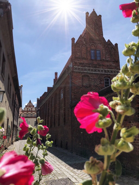 Stralsund oude stad baksteen gotisch