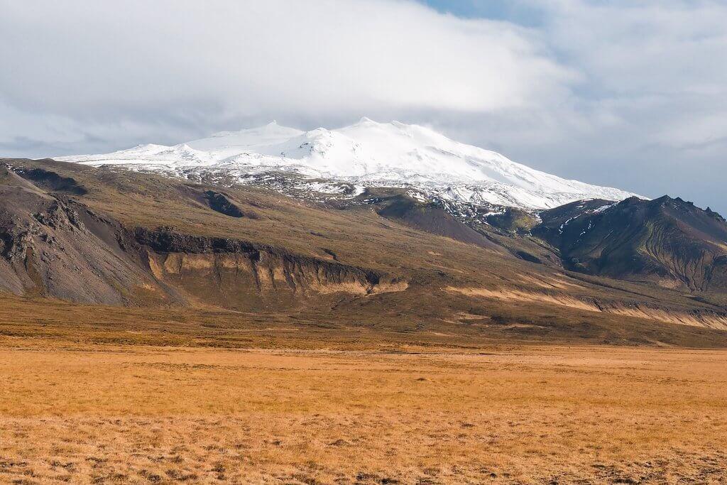 Snaefellsjokull IJsland