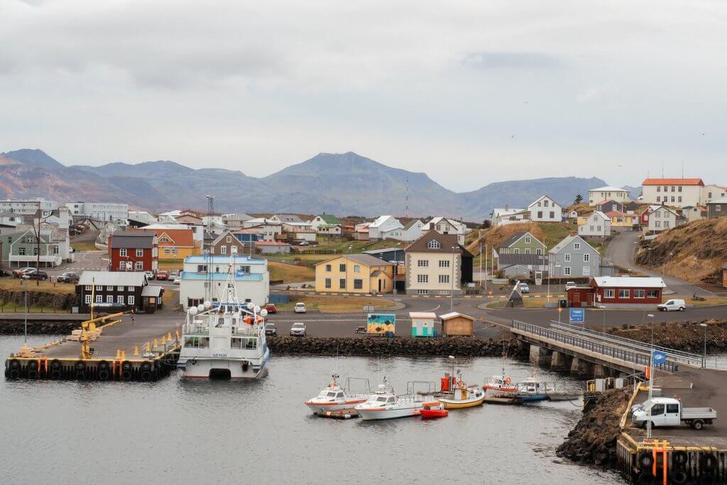 Stykkisholmur IJsland Snaefellsnes