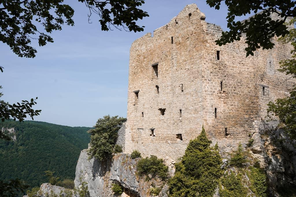 Ruïnes van Reussenstein, wandelen in de Schwäbische Alb