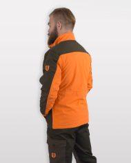 giacca da caccia fluo