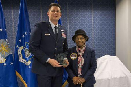 Dr. Gladys West Receiving Award
