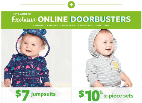 Carters Cyber Monday 2015 Ad - Page 2
