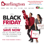 Burlington Coat Factory black friday ad scan - page 1
