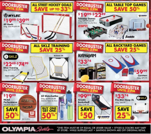 olympia sports black friday ad scan - page 4