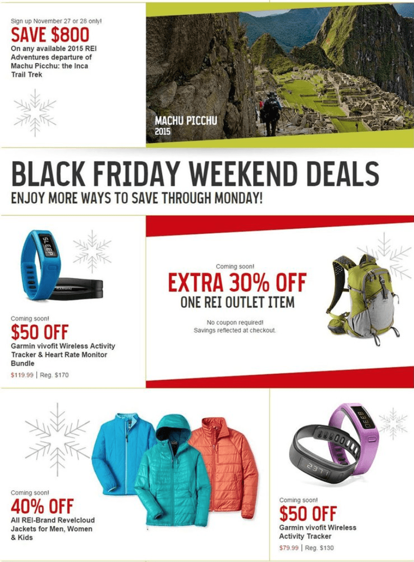Rei Black Friday Sale In 2020 Don T Expect It Blacker Friday