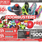 sports authority black friday ad scan - page 1