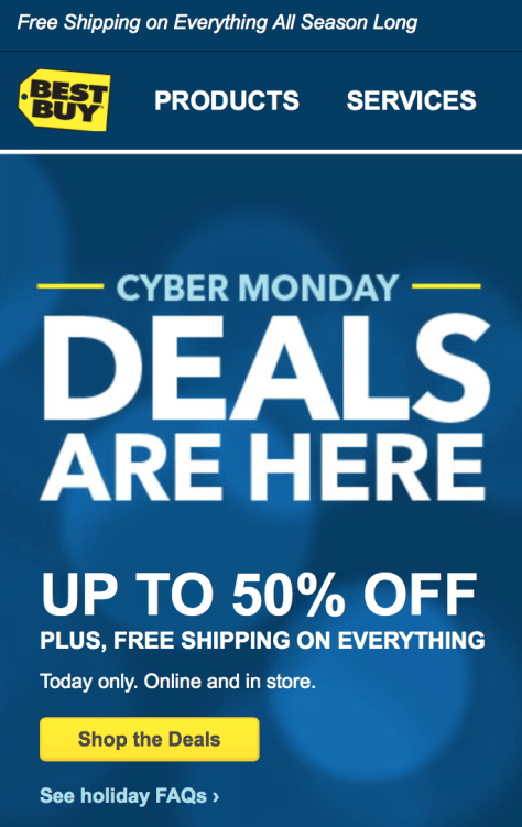 Best Buy Cyber Monday 2015 Ad - Page 1