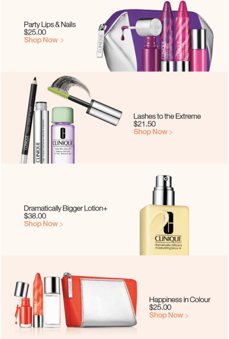 Clinique black friday ad scan - page 2