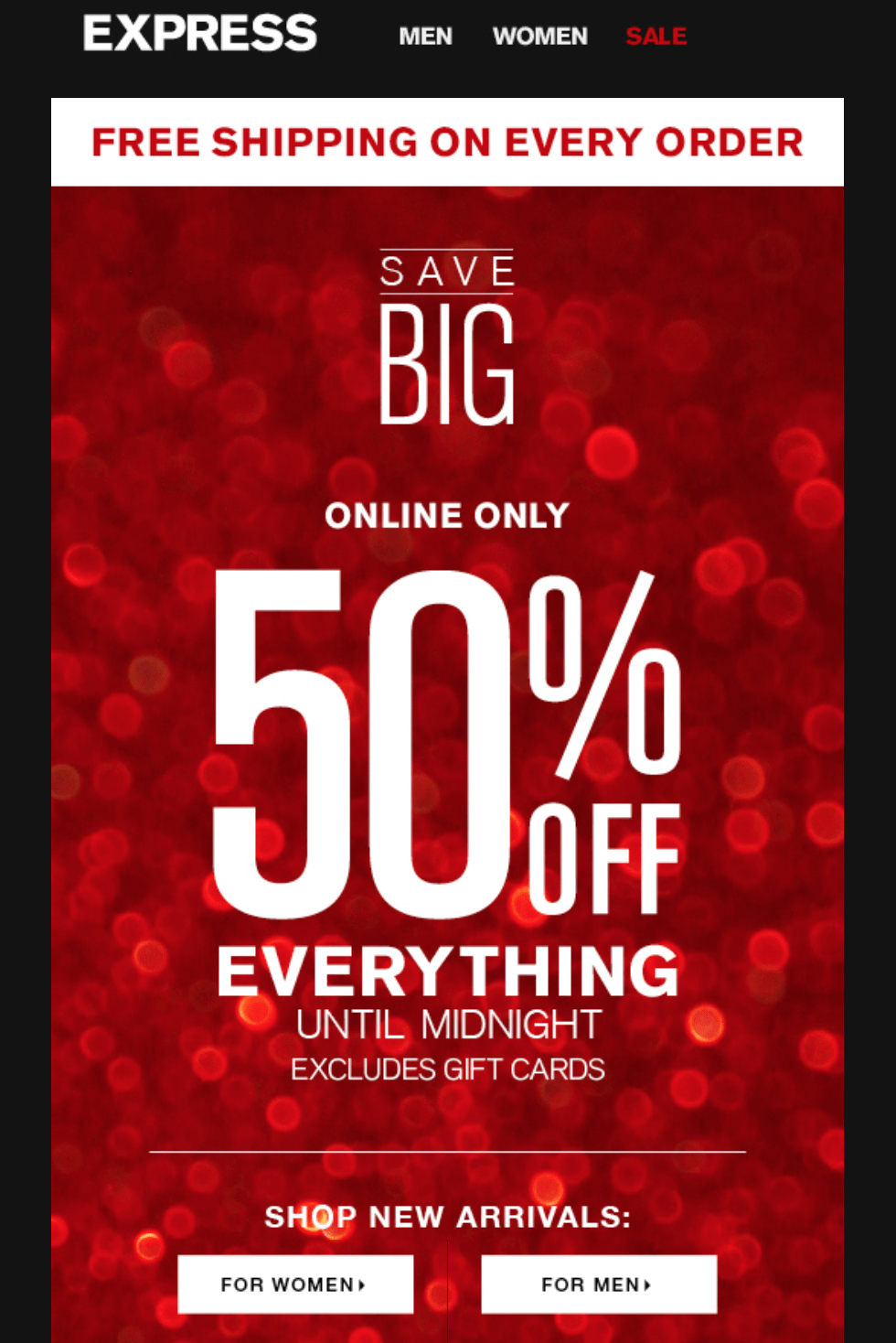 Martins clothing store black friday ad