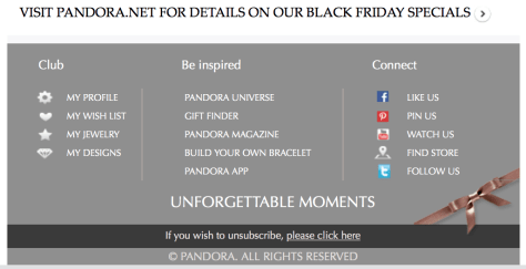 Pandora black friday ad scan - page 2