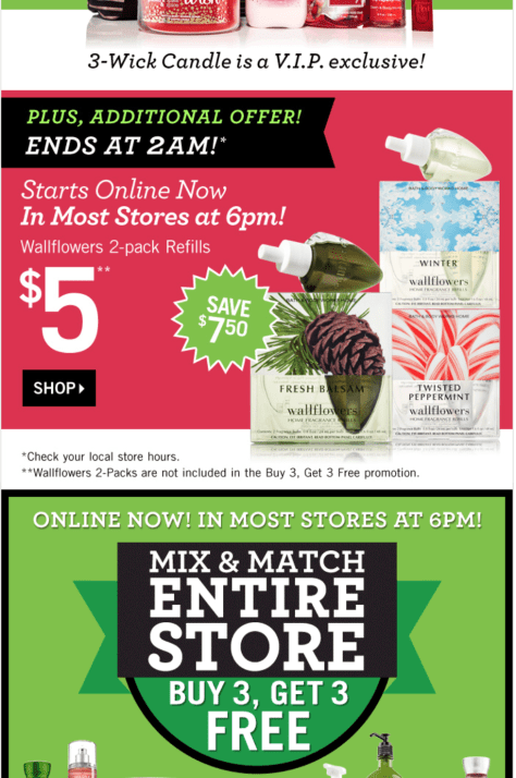 Bath And Body Works Black Friday 2019 Ad Sale Deals